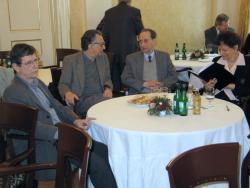 Várady Szabolcs, Lator László, Rába György és Gergely Ágnes (2004, DIA)