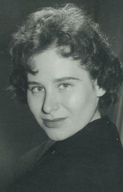 Pór Judit, 1960 (fotó: Harmath)