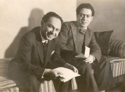Friss Endre és Zelk Zoltán, 1938