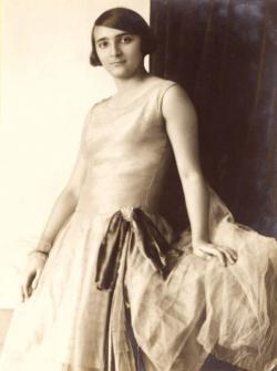 Eppinger Dóra 1930 körül