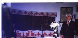 A 75. születésnapon, a pusztakamarási templomban 2002. június 16-án
