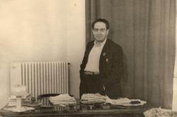 Az Attila úti lakásban, 1950 körül