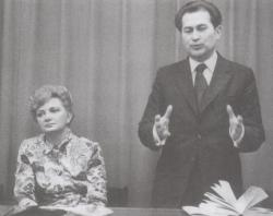 Fodor Andrással a hetvenes évek elején