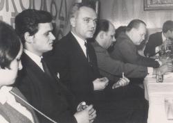 1969-ben, a Csemadokban