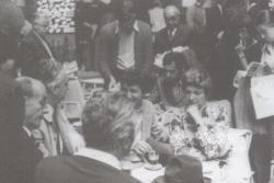 A Könyvhét megnyitója Debrecenben, 1973. június 2.