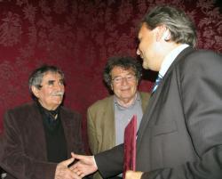 Juhász Ferenc és Hiller István (2007, DIA)