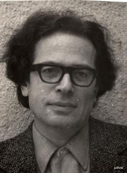 Konrád György (1970-es évek; fotó: Veres Júlia)