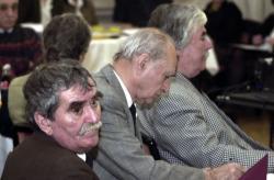 Juhász Ferenc, Farkas László és Csukás István (2003, DIA)