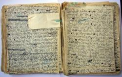 A Prae című regény kézirata