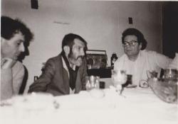 Haraszti Miklóssal és Petri Györggyel