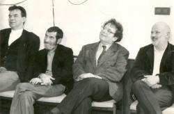 Rajk László, Petri György, Konrád György, Eörsi István