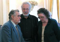 Gyurkovics Tibor, Szakonyi Károly és Jókai Anna (2004, DIA)