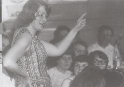 Író-olvasó találkozón, munkások közt, Óbuda, 1978. június 8.