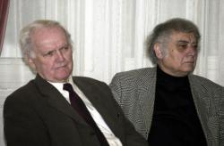 Dobos László és Csoóri Sándor (2003, DIA)