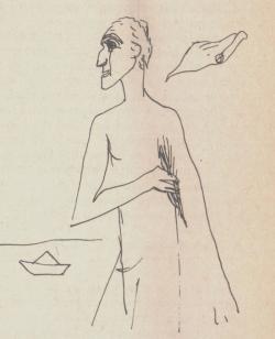 Borsos Miklós rajza (1946)