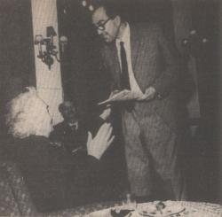 Robert Graves-szel Budapesten (1968. május 6.)