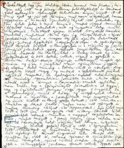 Az Első Nem-Prae-átló kéziratoldala