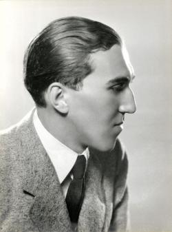 Szentkuthy Miklós, 1934 (Pécsi József felvétele)