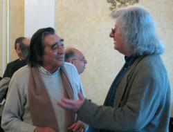 Somlyó György és Esterházy Péter (DIA, 2004)