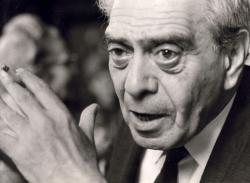 Zelk Zoltán, 1966 (fotó: Molnár Edit)