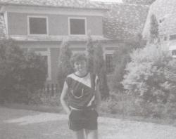 A szigligeti alkotóházban, 1985