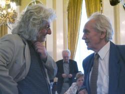 Esterházy Péter és Hubay Miklós (2007, DIA)