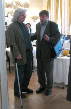 Esterházy Péter és Lászlóffy Aladár (DIA, 2004)