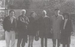 Az Írószövetség alelnökeként Svédországban, 1989