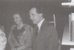 Szépfalusi Istvánnal Bécsben, 1990. március 3.