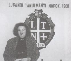 A Luganói Tanulmányi Napok vendége Svájcban, 1991