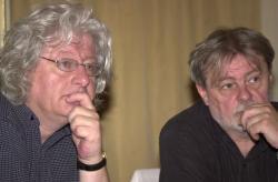 Esterházy Péter és Parti Nagy Lajos (DIA, 2007)