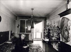 Portré, 1971 (fotó: Balla Demeter)