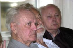 Dobos László, Szakonyi Károly és Ágh István (2007, DIA)