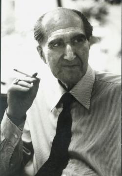 Szentkuthy Miklós 1978-ban, négy évig tartó depressziója után