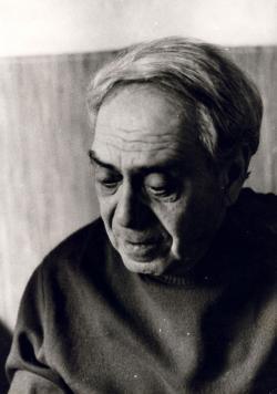 Zelk Zoltán, 1972 (fotó: Móser Zoltán)