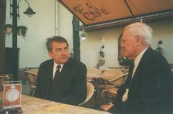 Görömbei Andrással Debrecenben, 2004 áprilisában