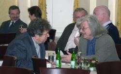 Konrád György és Esterházy Péter (2004, DIA)