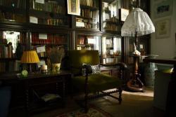 Szentkuthy Miklós Szilágyi Erzsébet fasori lakásának könyvtárszobája