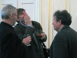 Bodor Ádám, Lászlóffy Aladár és Konrád György (2004, DIA)