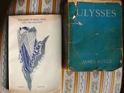 James Joyce Ulyssese angolul, amelyből Szentkuthy a fordítást készítette