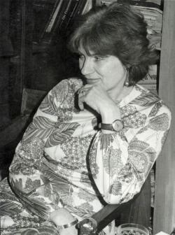 Tompa Mária, az író munkatársa a nyolcvanas évek elején