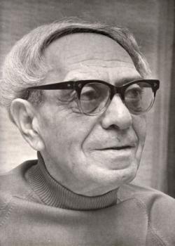 Zelk Zoltán, 1973. ápr. 12. (fotó: Székely Tamás)