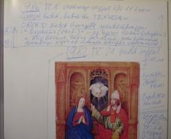 Szentkuthy Miklós széljegyzete a könyvtárában található könyvben a Szent Orpheus Breviáriuma Euridiké nyomában című X. részével kapcsolatban. A bevezető szent életrajz önéletrajz lesz