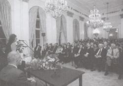 70. születésnap a Petőfi Irodalmi Múzeumban, 2002