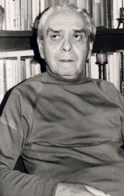 Zelk Zoltán (fotó: Moldvay Dénes)