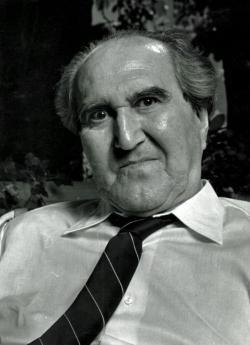 Szentkuthy Miklós 1987-ben (Vahl Ottó felvétele)