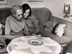 Zelk Zoltán és Sinka Erzsébet (fotó: Moldvay Dénes)