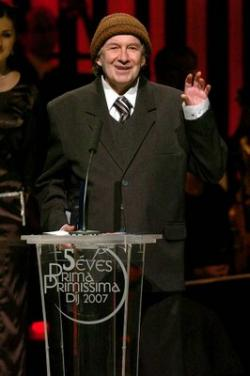 A Prima Primissima-díj átadásán (2007)