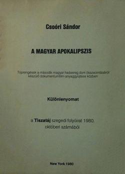 A magyar apokalipszis (New York, 1981)
