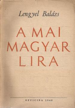 A mai magyar líra (1948)